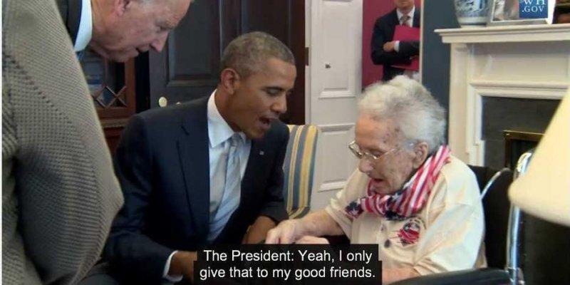 108 yr old woman