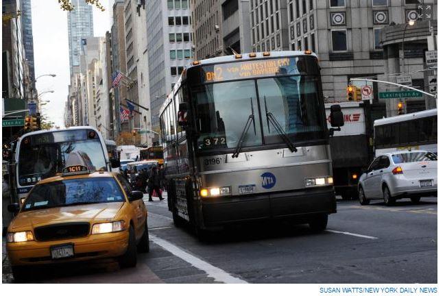 MTA NY bus