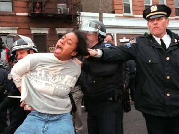 an examination of the issues of racist policing and the violent behavior of the police department Introduction: macpherson and 'institutional racism  it offers the opportunity to condemn the police if policing is racist,  a longitudinal examination of.